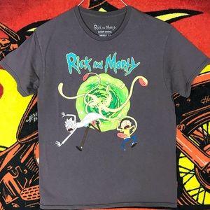 Rick N Morty Adult Swim Cartoon Network Shirt